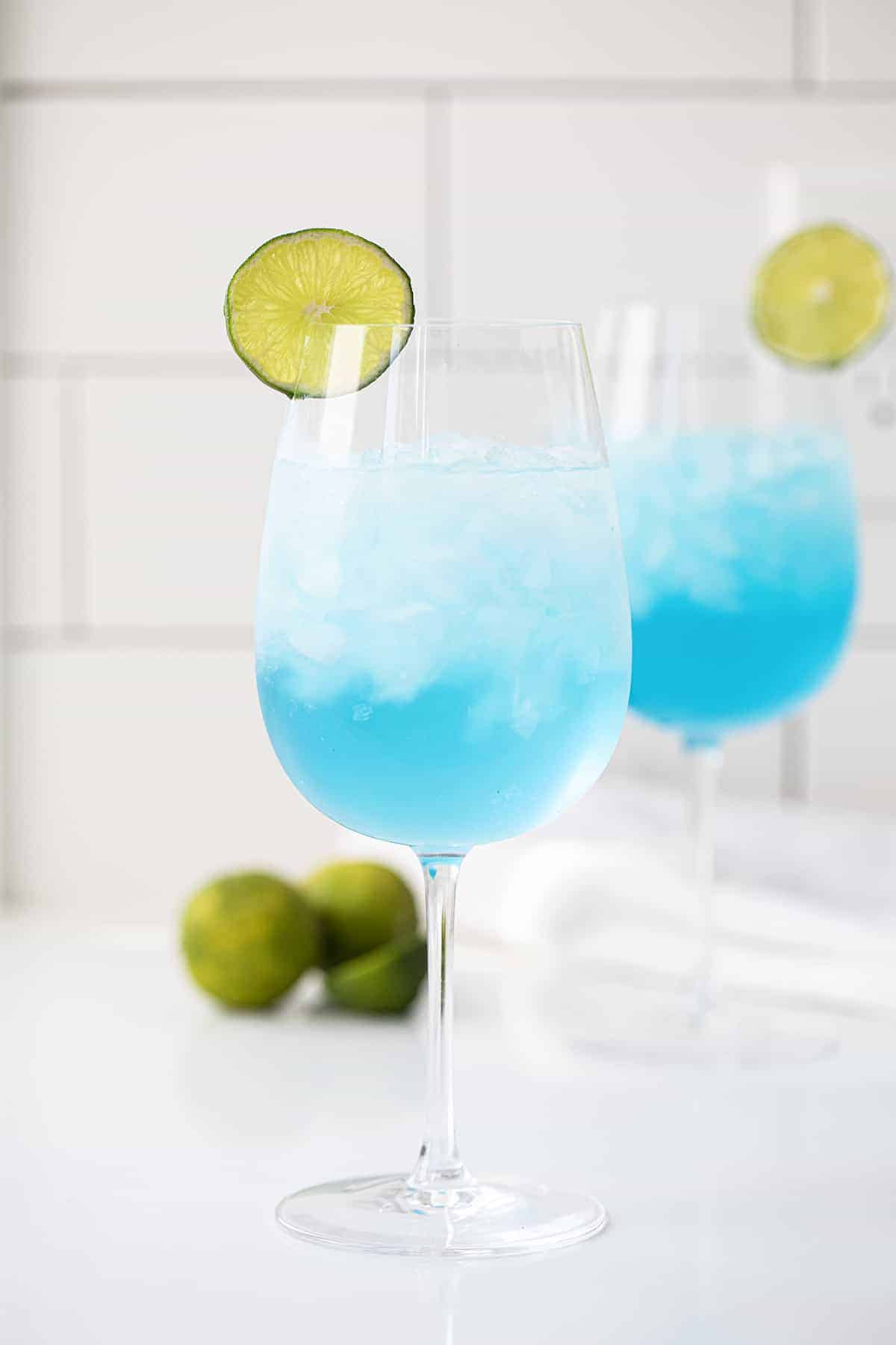 Two Drunken Mermaid Cocktails