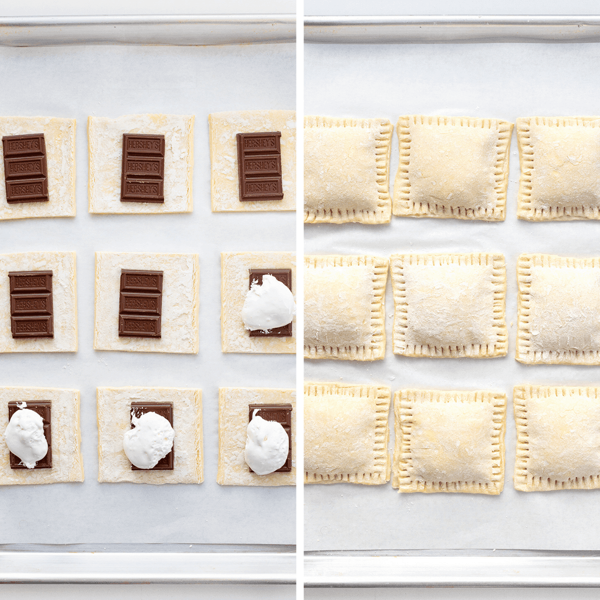 How to Assemble Ultimate Smores - Puff Pastry Smores