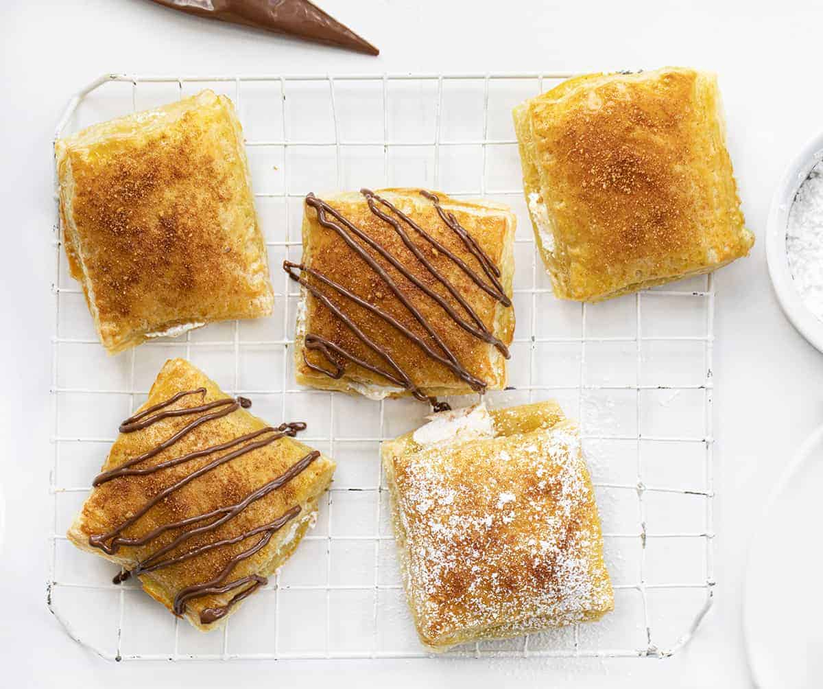 Ultimate Smores - Puff Pastry Smores
