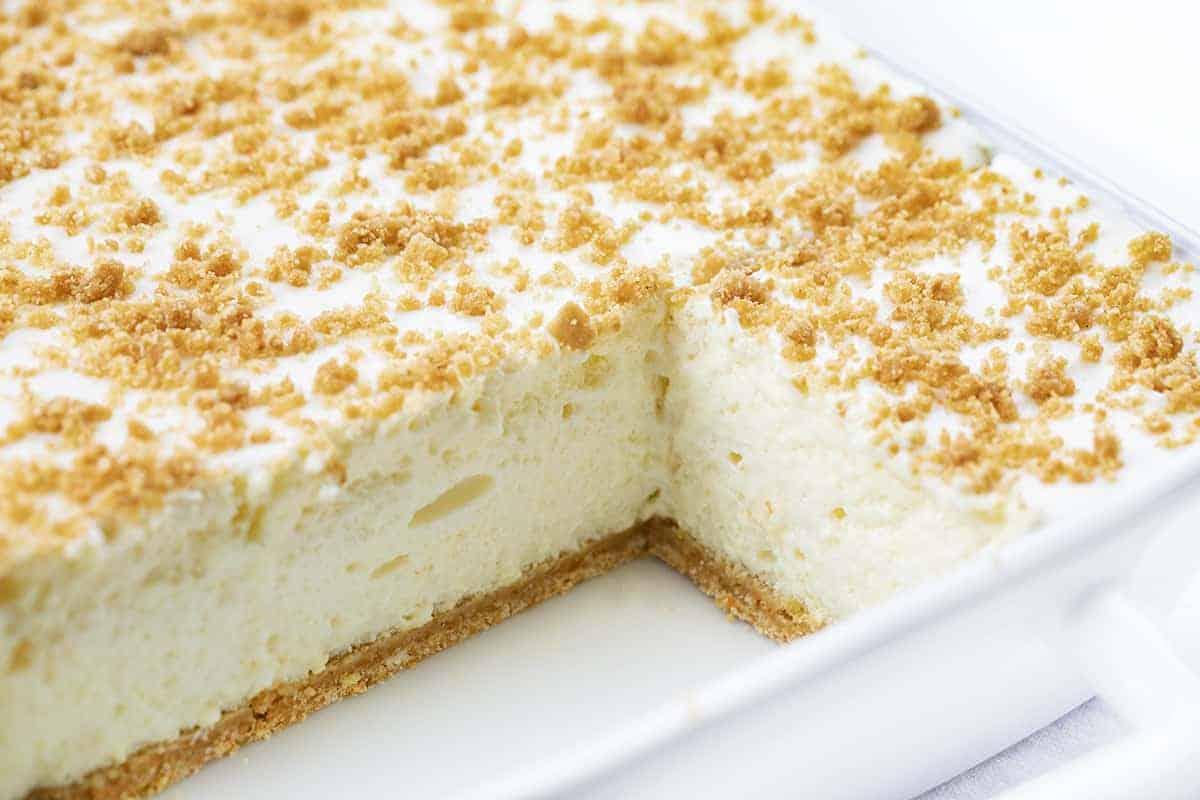 Cut Into Woolworth Icebox Cake Recipe