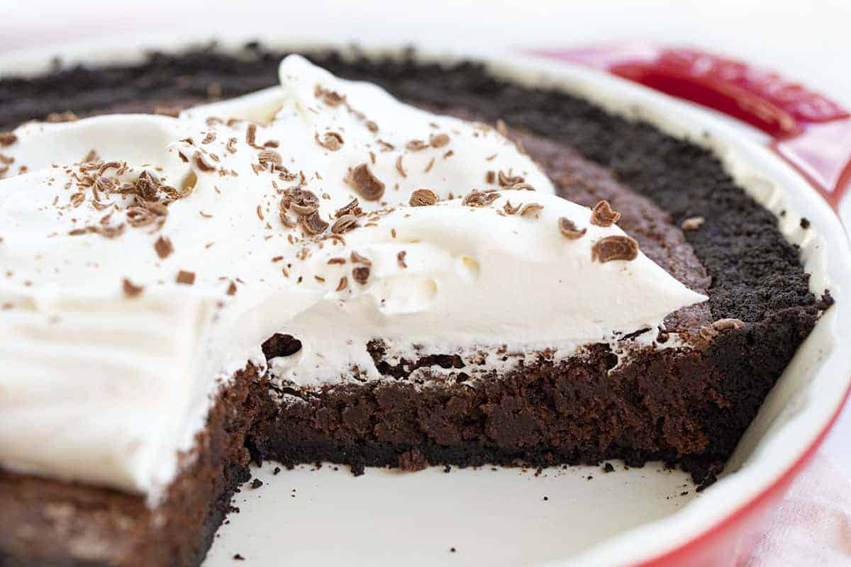 Cut Into Brownie Pie Recipe