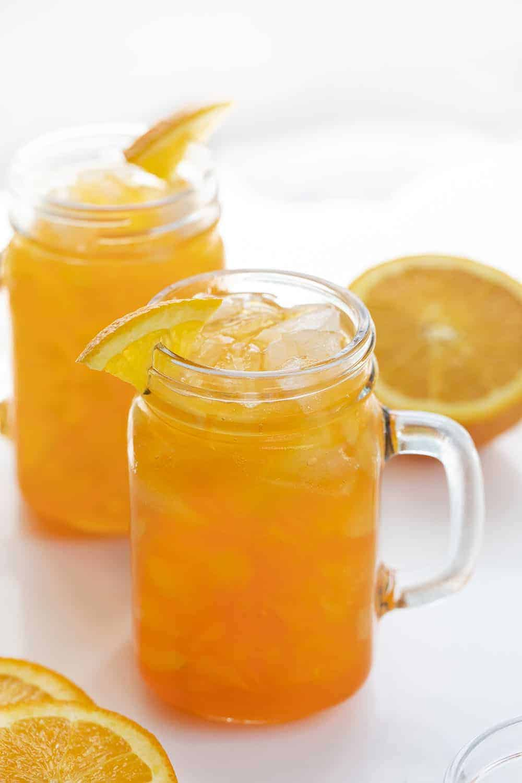 Orange Crush Cocktail in Mugs