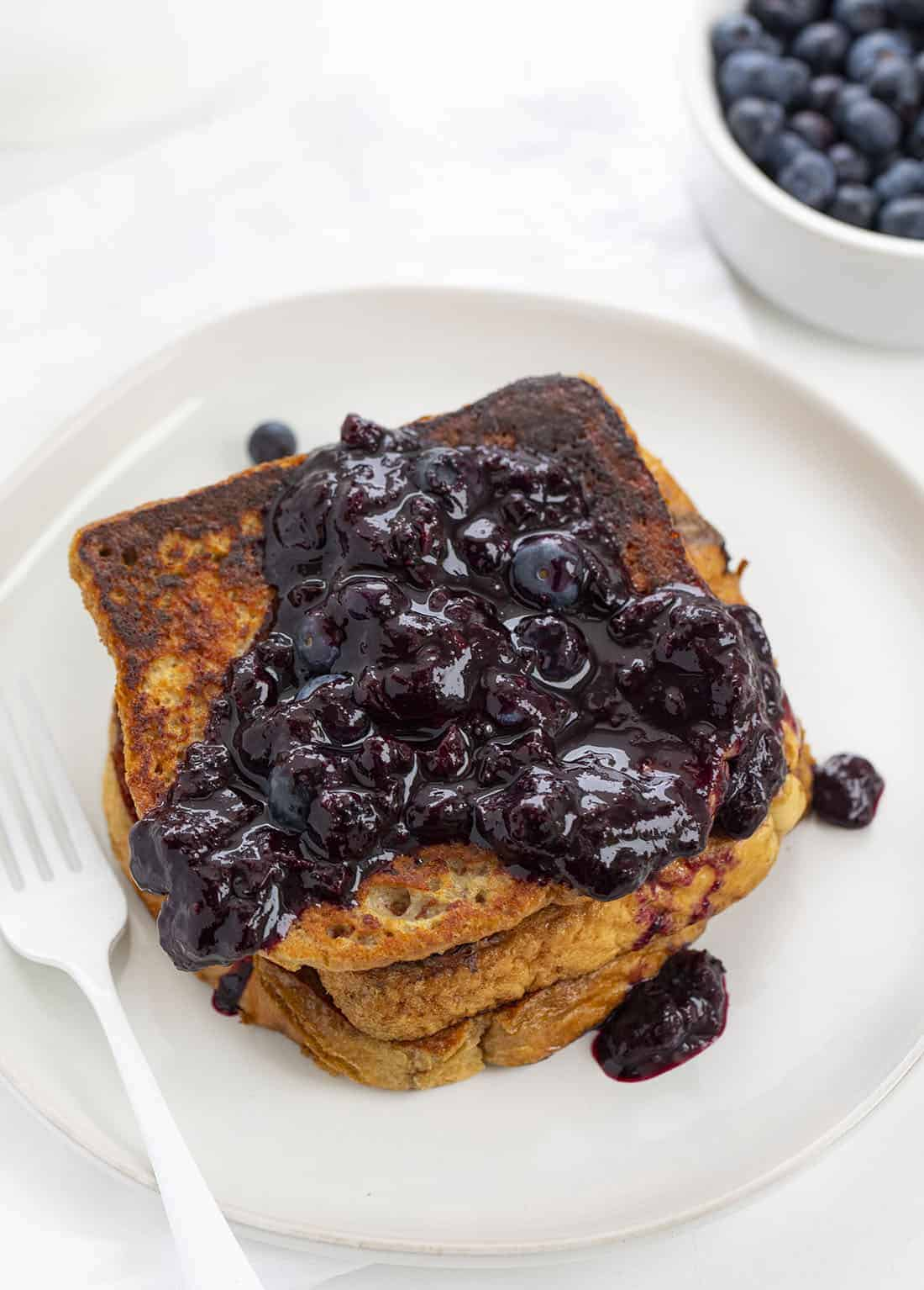 Stack of Blueberry French Toast