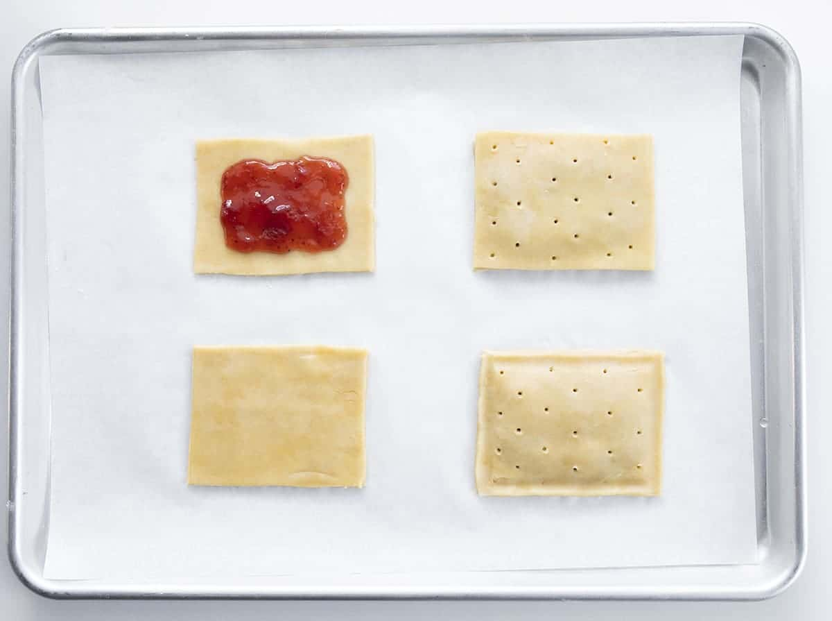 Process for Making Homemade Strawberry Pop Tarts