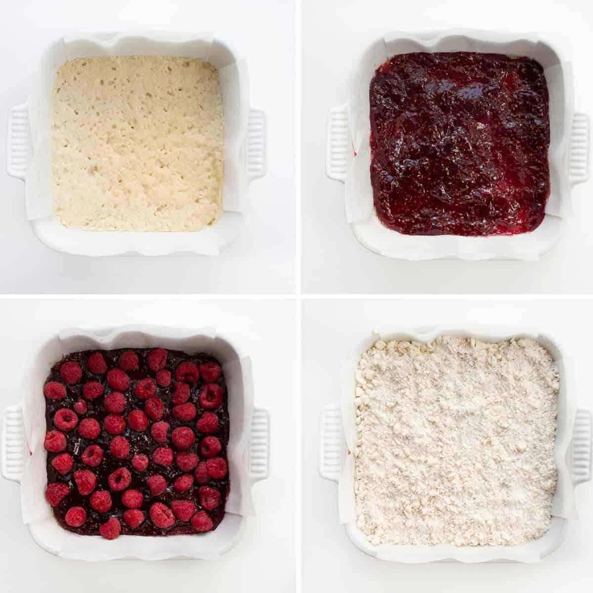 How to Make Oatmeal Raspberry Bars