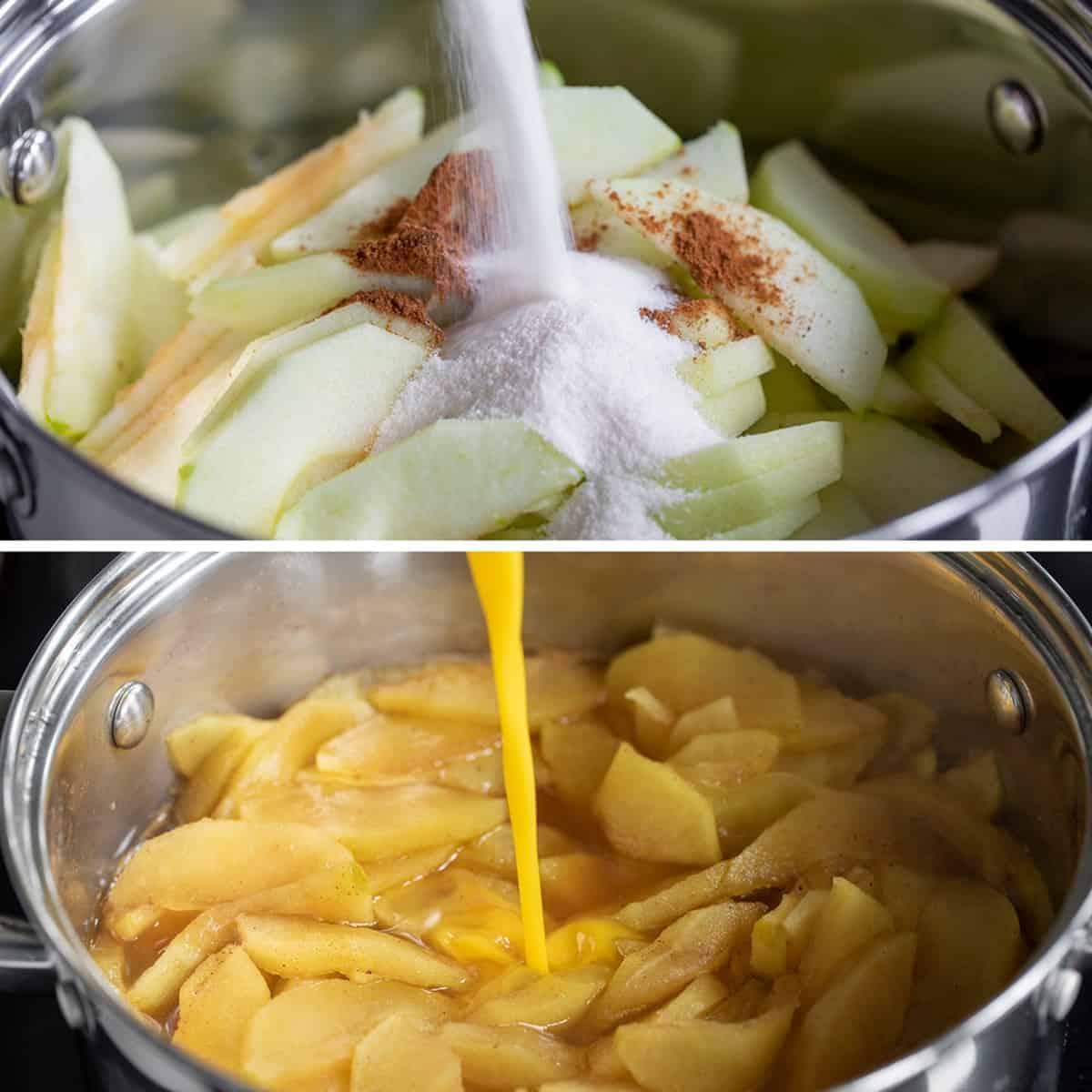 How to Make No Bake Apple Pie