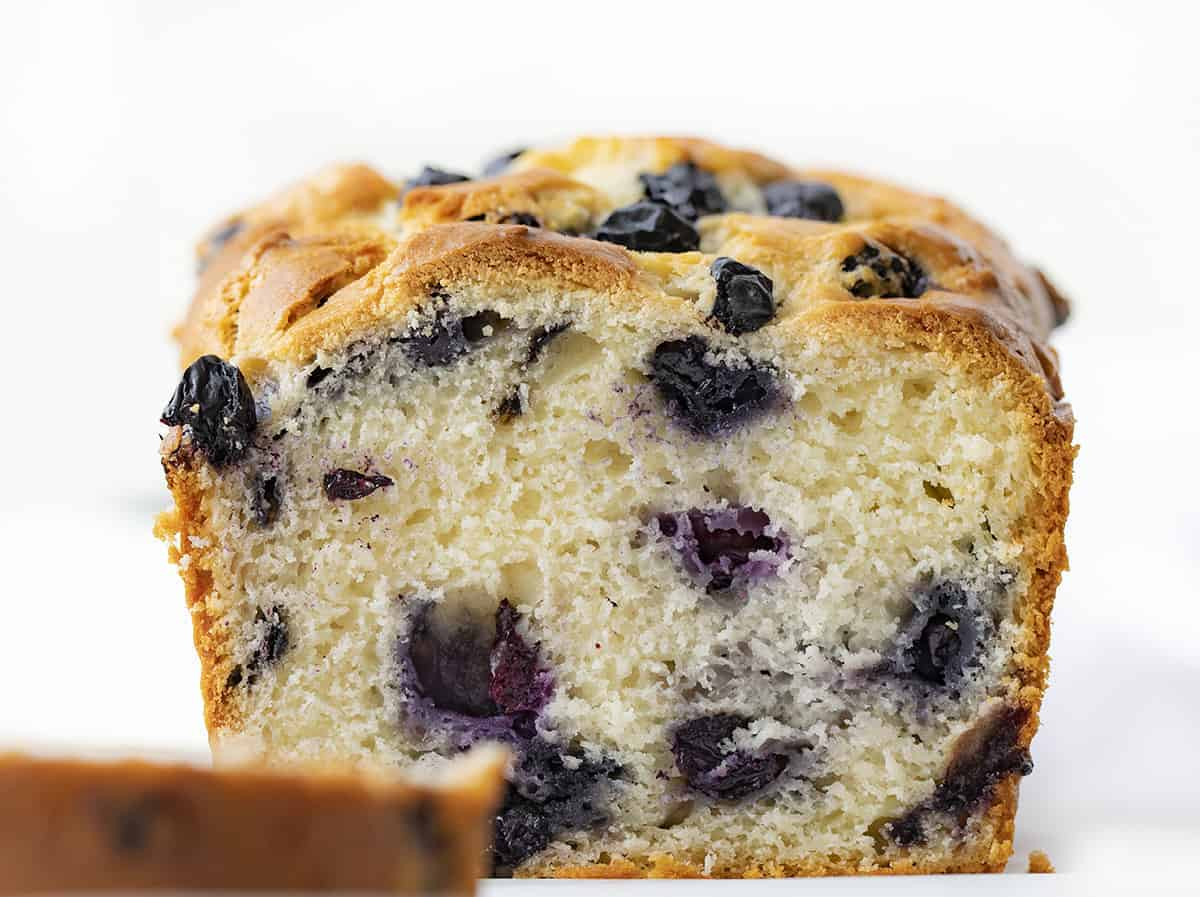 Loaf of Blueberry Bread