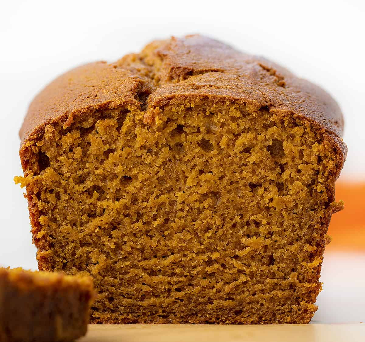 Sliced into Pumpkin Bread