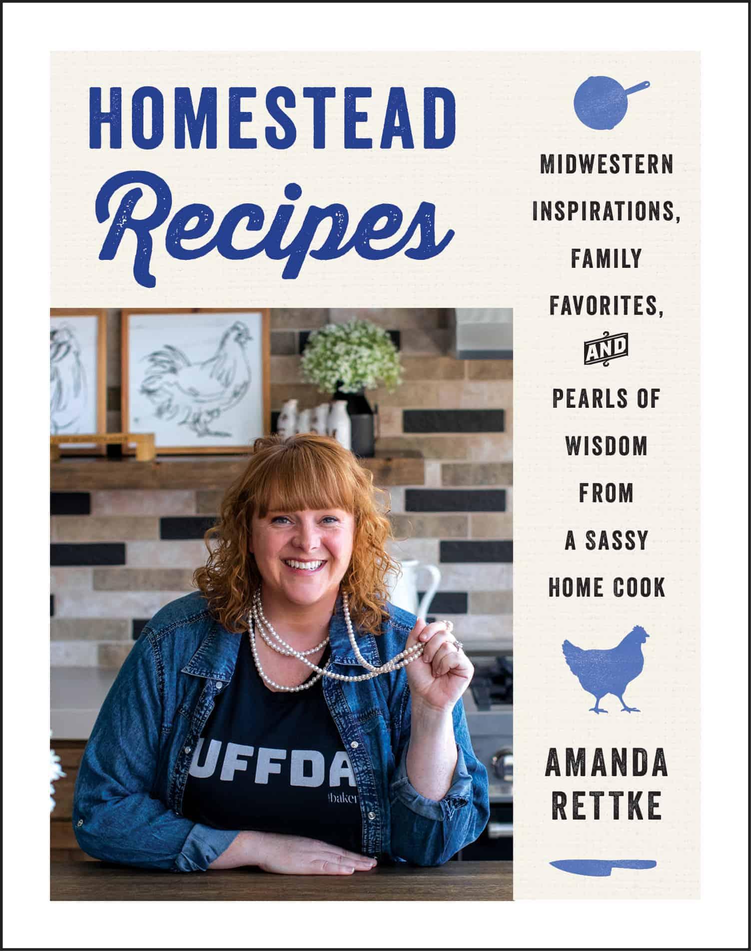 Homestead Recipes Book Cover