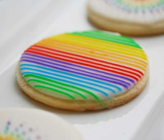 and you know i couldnt resist making some rainbow cookies