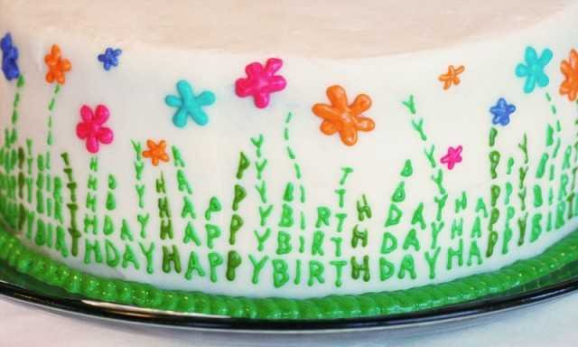 Spring Celebration Cake i am baker