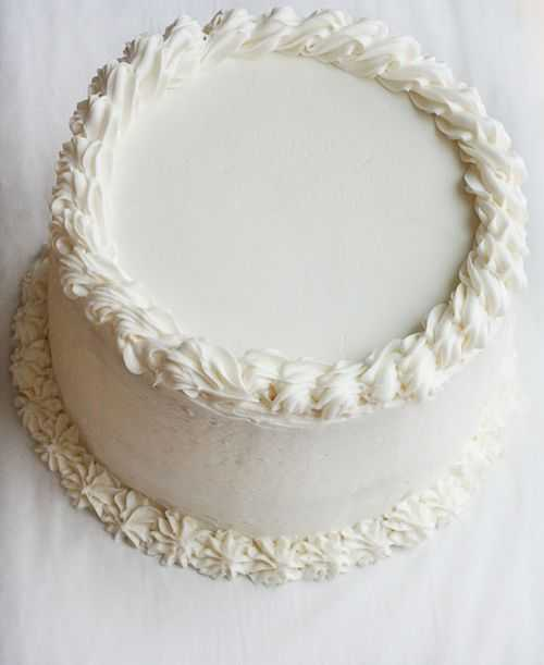 White Cake with Surprise Inside