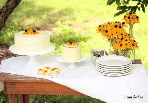 Black Eyed Susan Cake