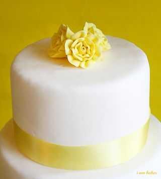 Mini yellow wedding cakes i am baker img1615amp mightylinksfo