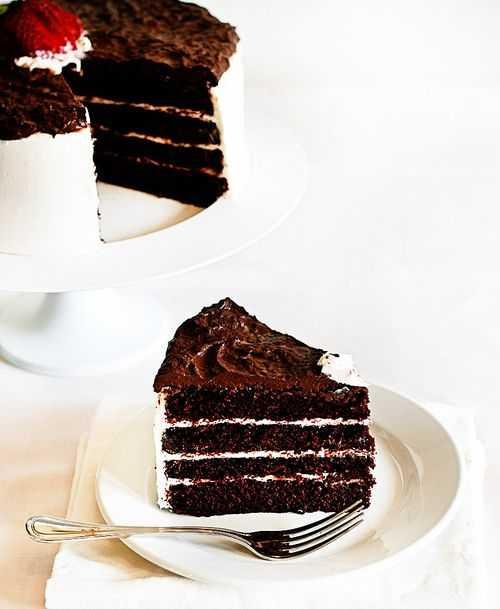 The Best Chocolate Cake - i am baker