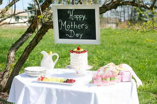Mothers Day Cake and Garden Party