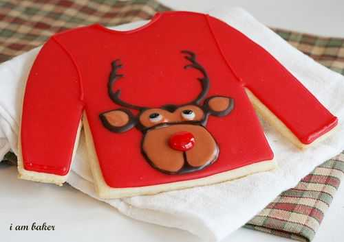 Ugly Christmas Sweater Cookies! #uglysweatercookies