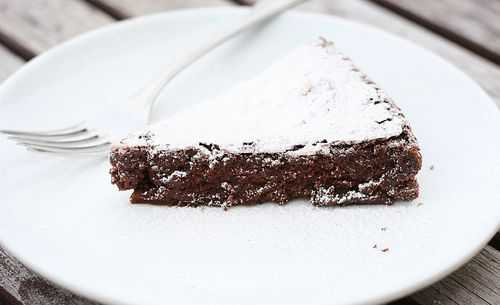 Flourless Chocolate Cake! Gluten Free!