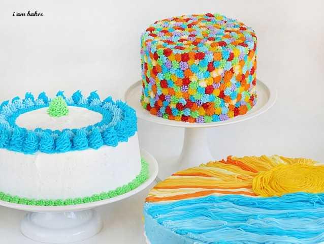 Grass Decorating Tip On Cake