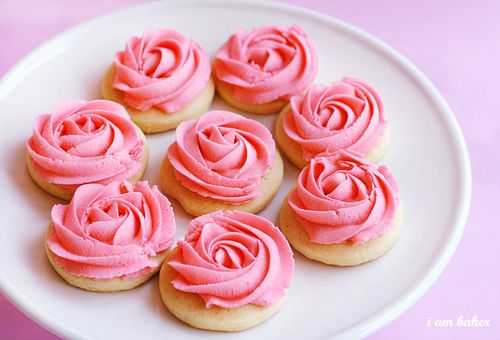 rose cookie