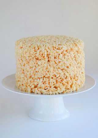 Rice crispy cake