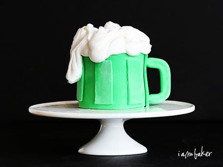 Beer Mug Cupcake Recipe